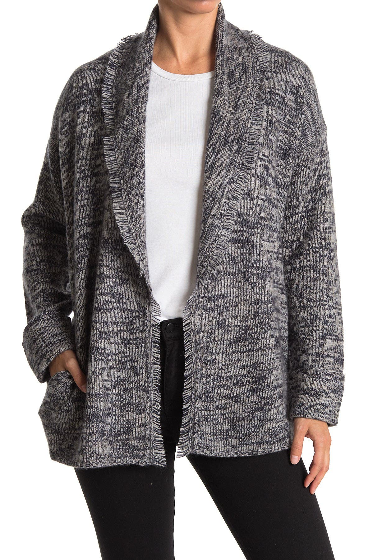 Image of SKULL CASHMERE Holly Wool & Cashmere Blend Cardigan