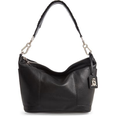 Steve Madden Faux Leather Hobo Bag - Black