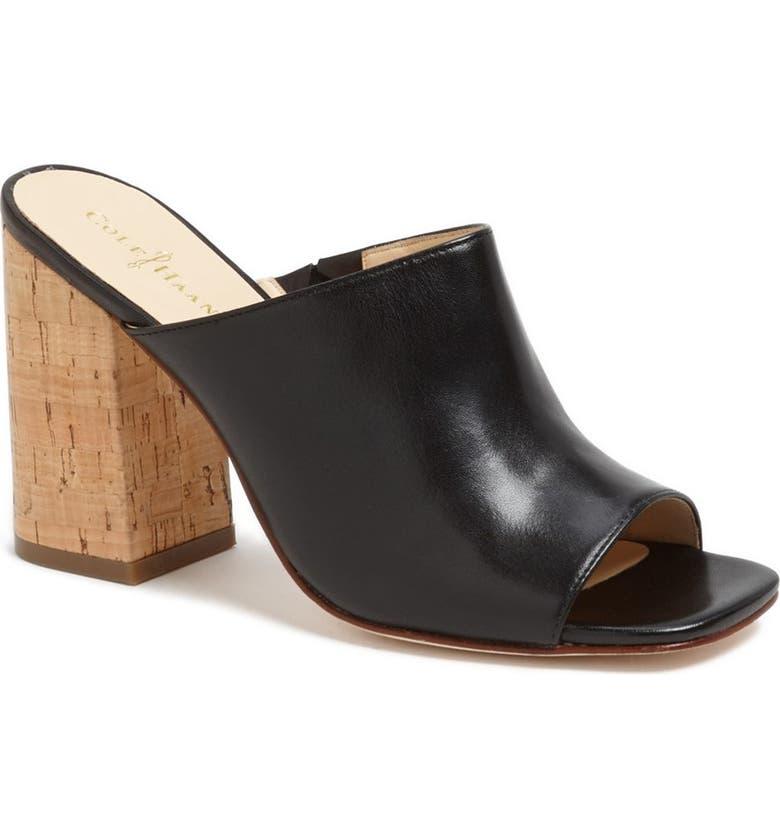 COLE HAAN 'Luci' Vachetta Sandal, Main, color, 001