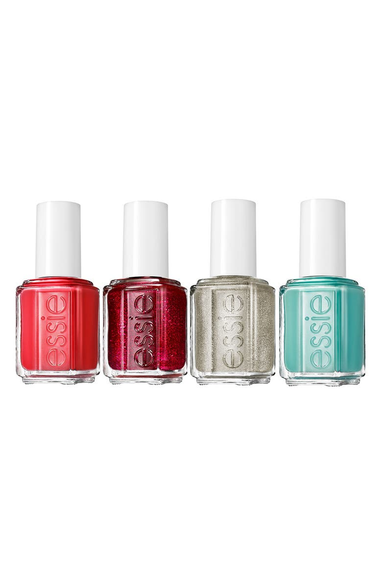 ESSIE <sup>®</sup> 'Winter Collection' Mega Mini Color Cube, Main, color, 000