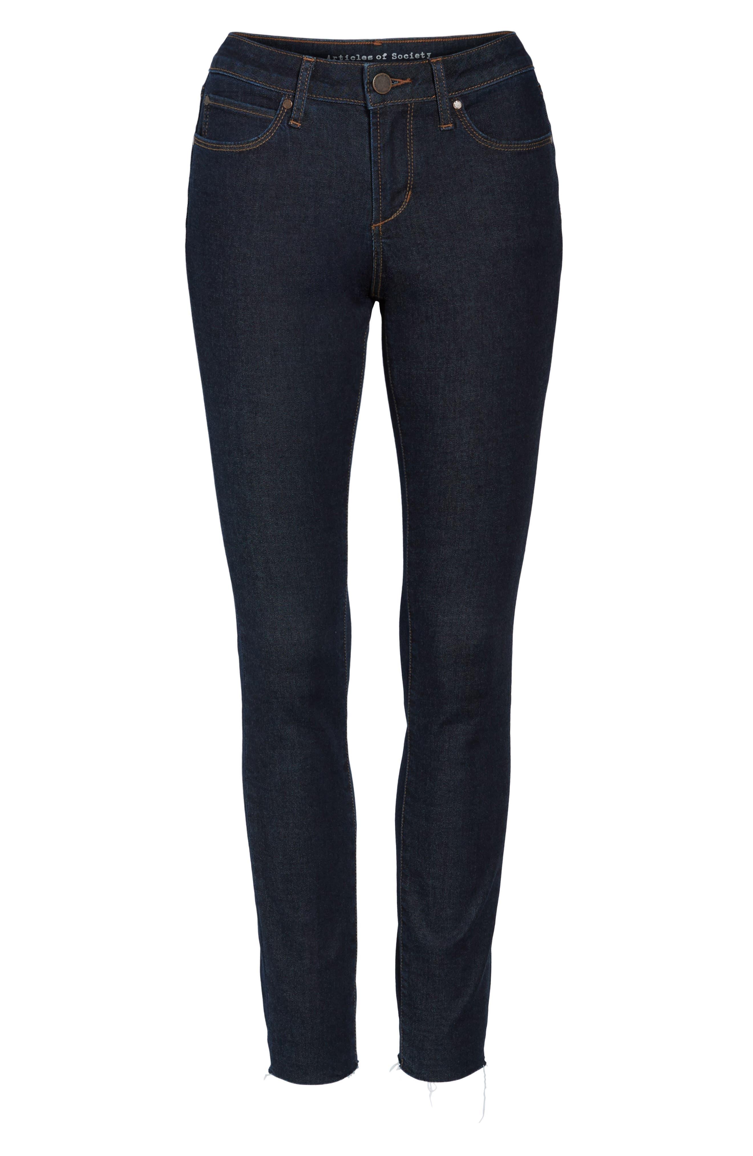 ,                             Sarah Ankle Skinny Jeans,                             Alternate thumbnail 6, color,                             495