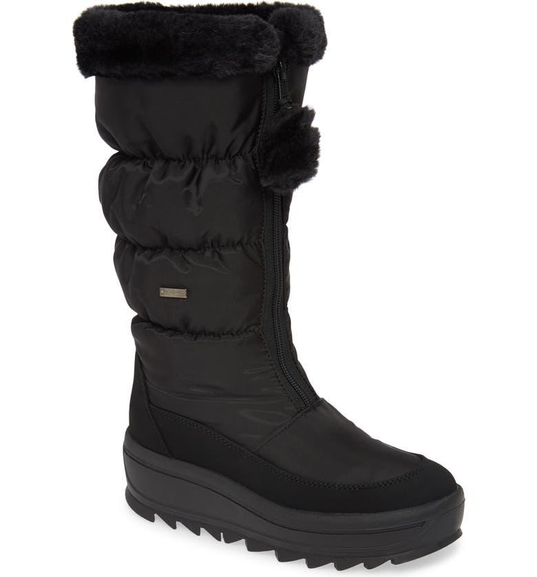PAJAR Toboggan 2.0 Faux Fur Trim Waterproof Insulated Boot, Main, color, BLACK