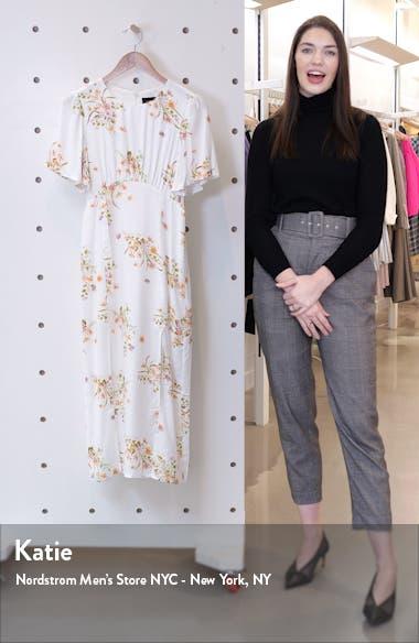 Floral Beauty Midi Dress, sales video thumbnail