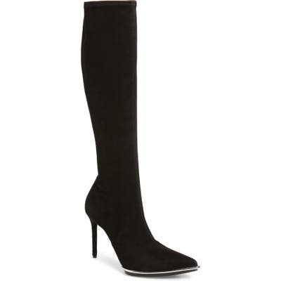Alexander Wang Cara Knee High Pointed Toe Boot - Black