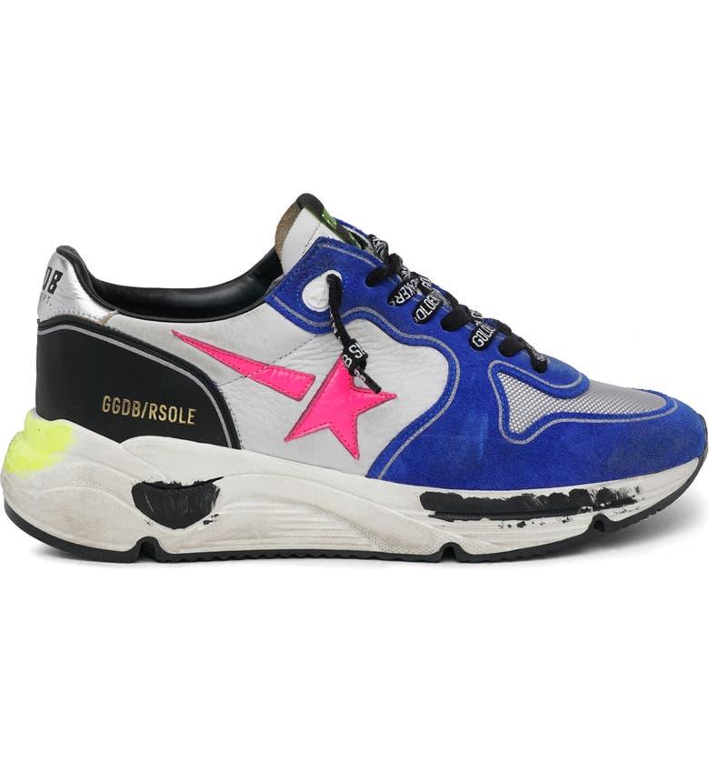 GOLDEN GOOSE Running Sole Sneaker, Main, color, 020