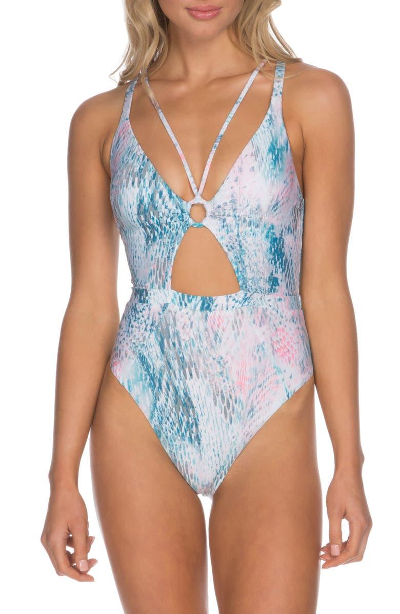 ISABELLA ROSE Everglades One-Piece Swimsuit, Main, color, MULTI
