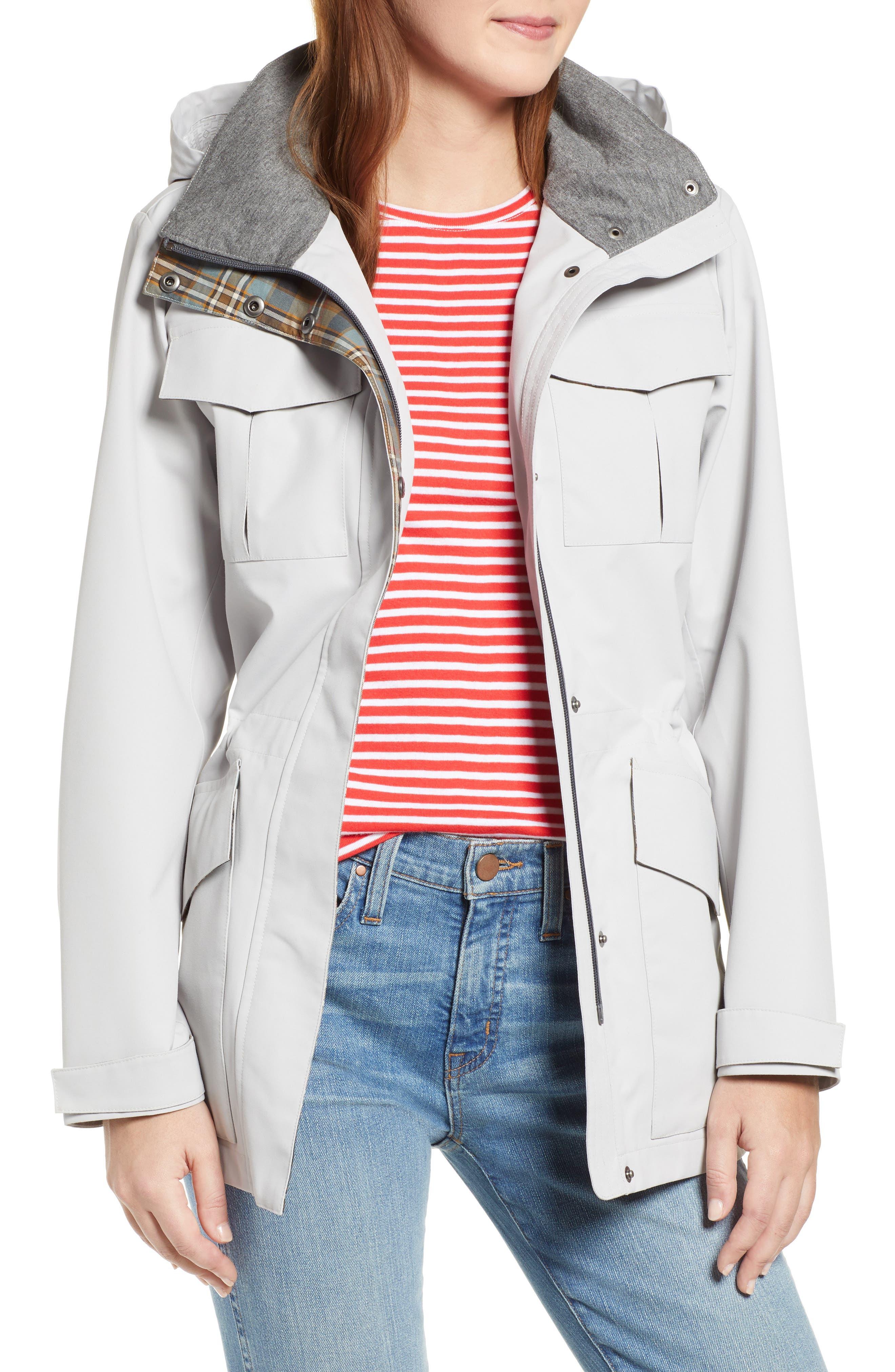 Lihn Hooded Utility Jacket, Main, color, ALUMINUM