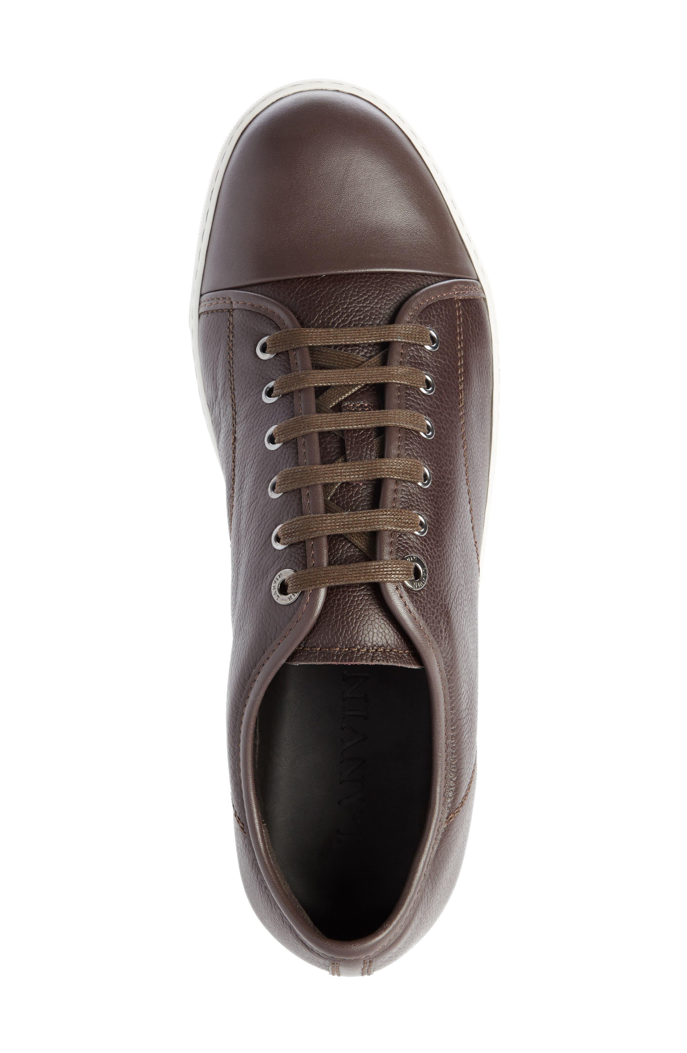 ,                             Shiny Cap Toe Sneaker,                             Alternate thumbnail 9, color,                             201
