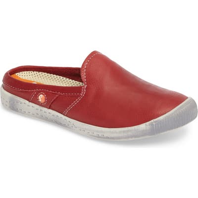 Softinos By Fly London Imo Sneaker Mule - Red