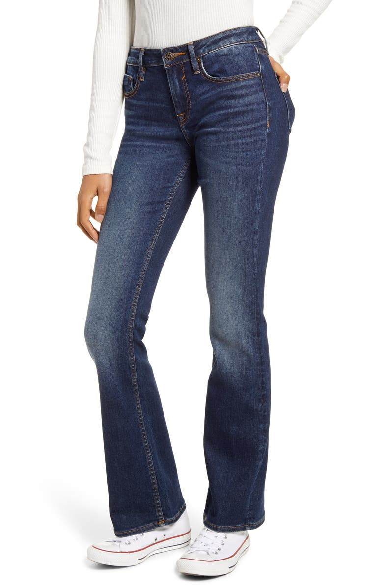 VIGOSS Jagger Bootcut Jeans, Main, color, DARK WASH