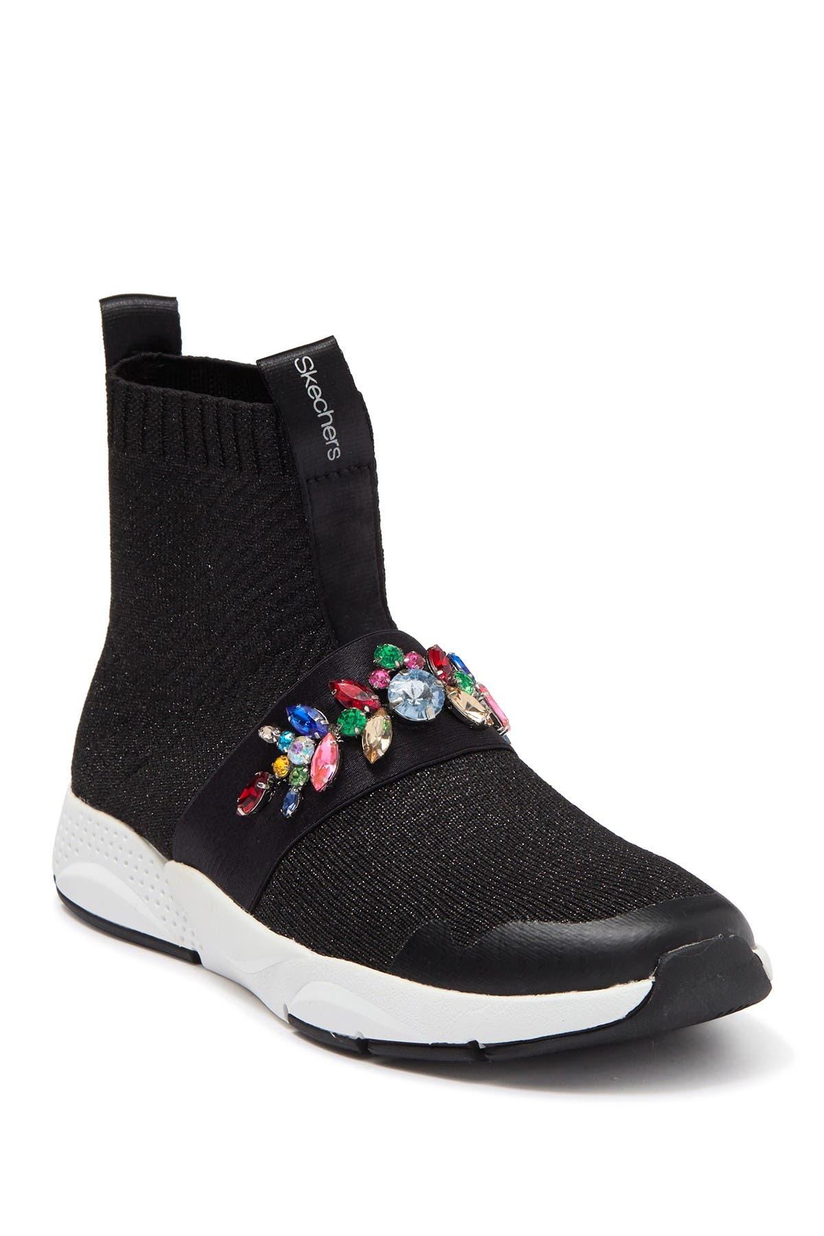 Shine Status Street Charm Sock Sneaker