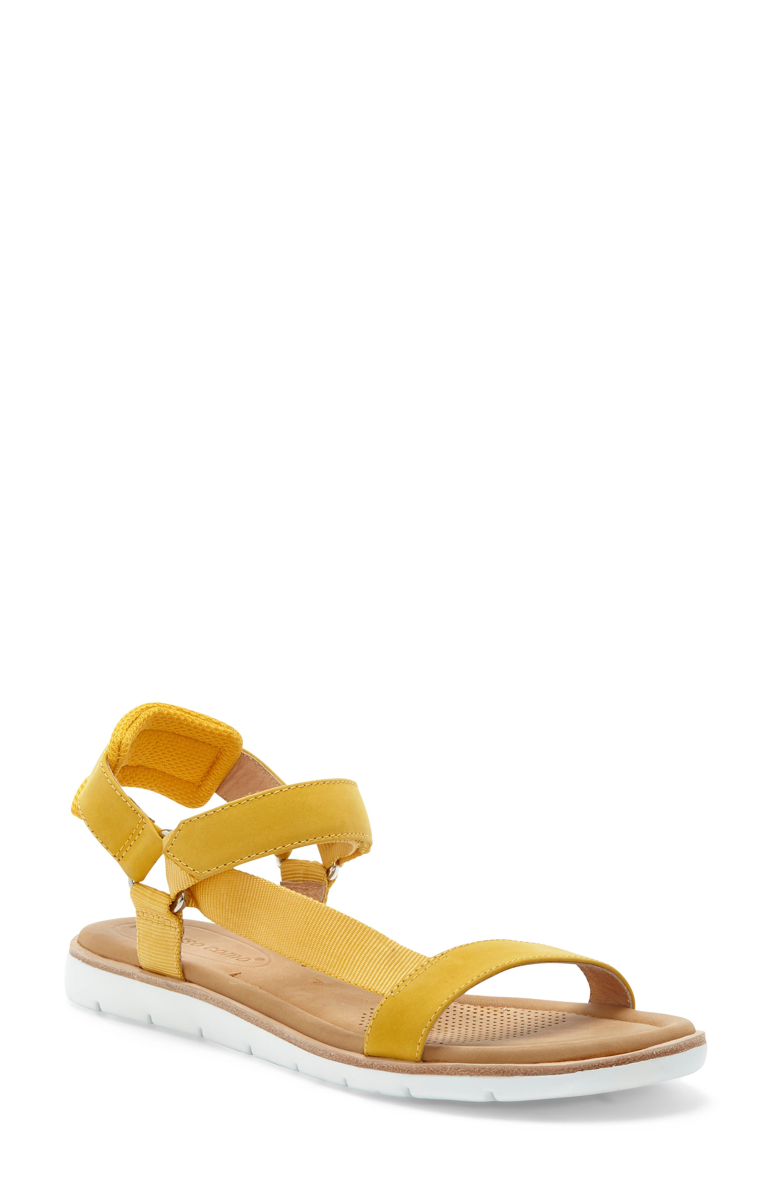Mixed-media styling defines this sporty-chic sandal designed for comfort with a padded back strap and generously cushioned footbed. Style Name: Cc Corso Como Brawyn Sandal (Women). Style Number: 6032417. Available in stores.