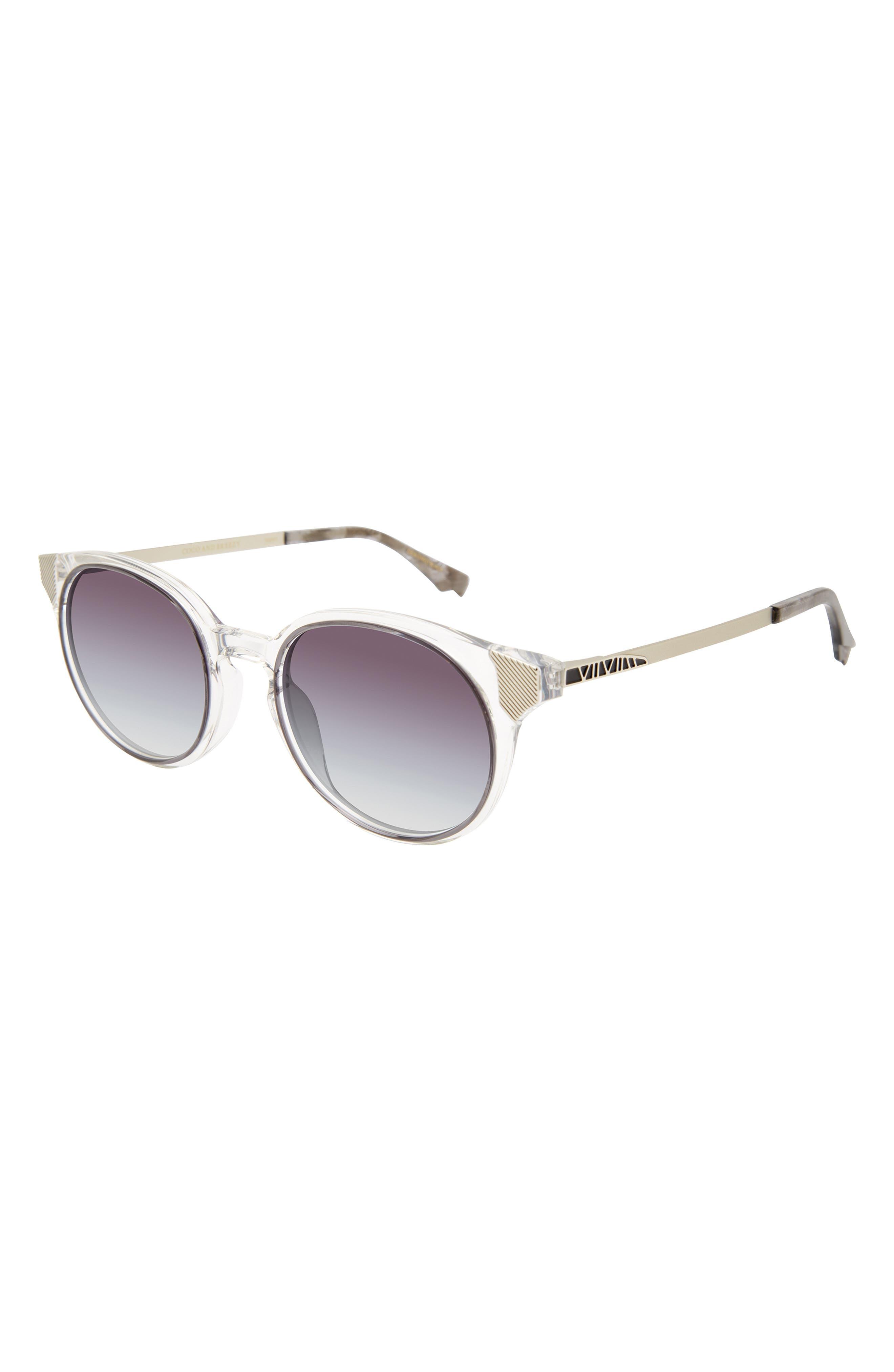 Inspire 53mm Round Sunglasses