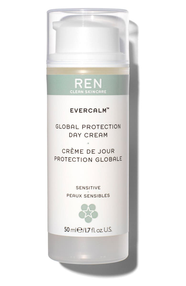 REN CLEAN SKINCARE Evercalm<sup>™</sup> Global Protection Day Cream, Main, color, 000
