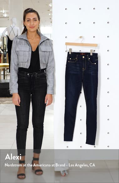 Slim Illusion High Waist Ankle Skinny Jeans, sales video thumbnail