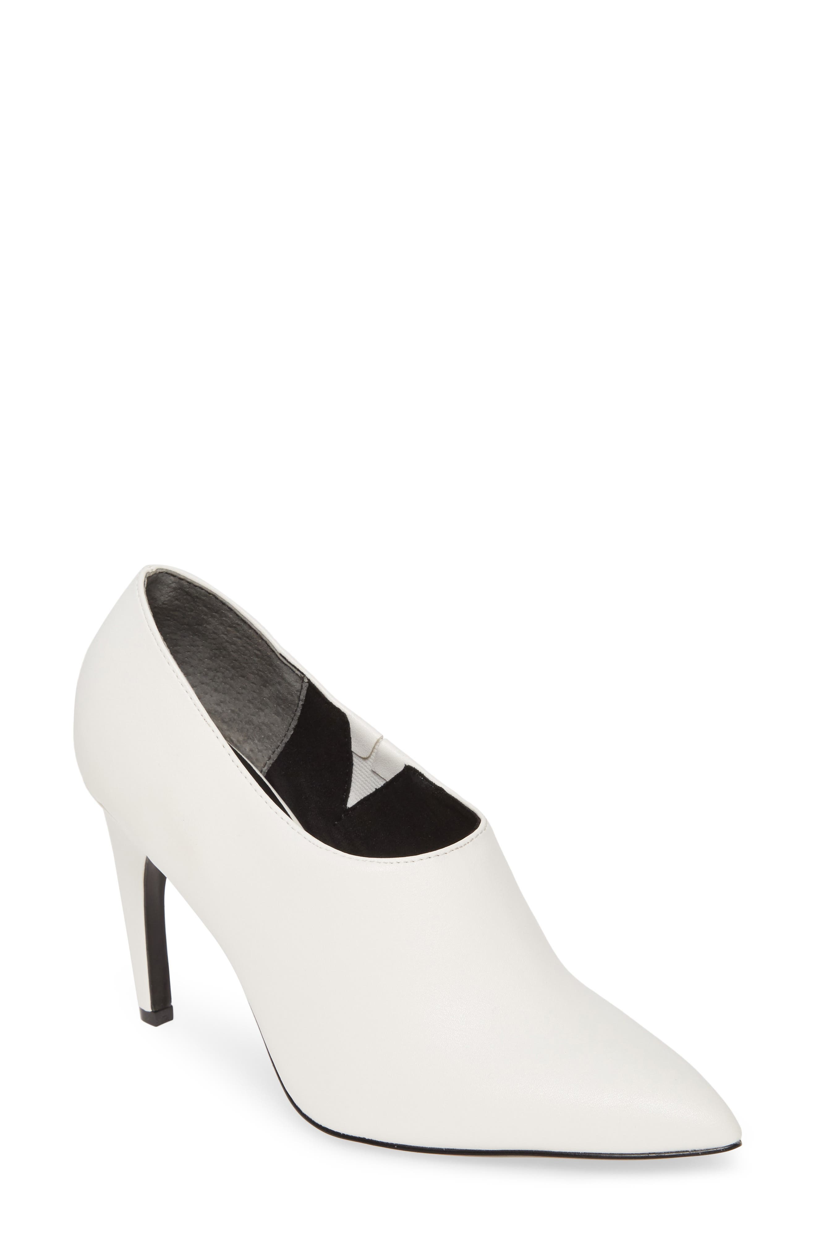 Charles By Charles David Oxy Shaftless Bootie, White