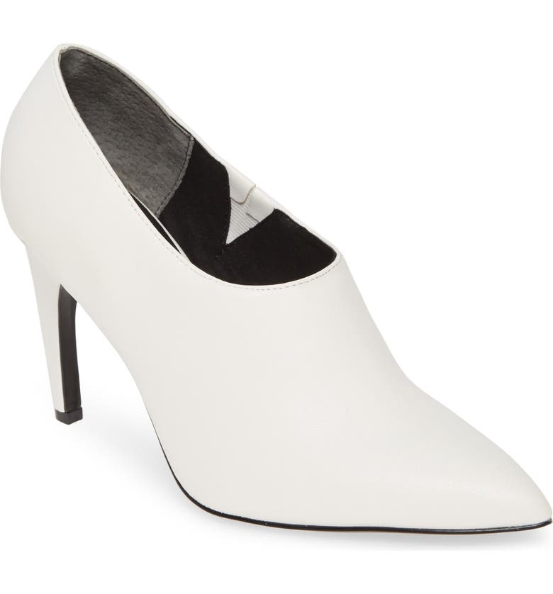 CHARLES BY CHARLES DAVID Oxy Shaftless Bootie, Main, color, WINTER WHITE