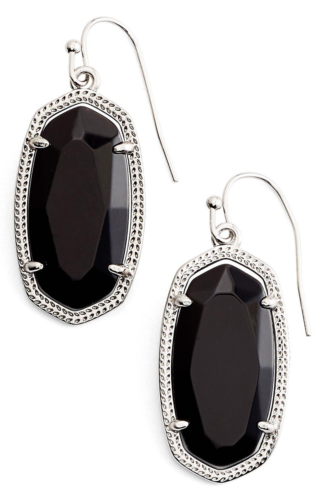 ,                             Dani Stone Drop Earrings,                             Main thumbnail 4, color,                             002