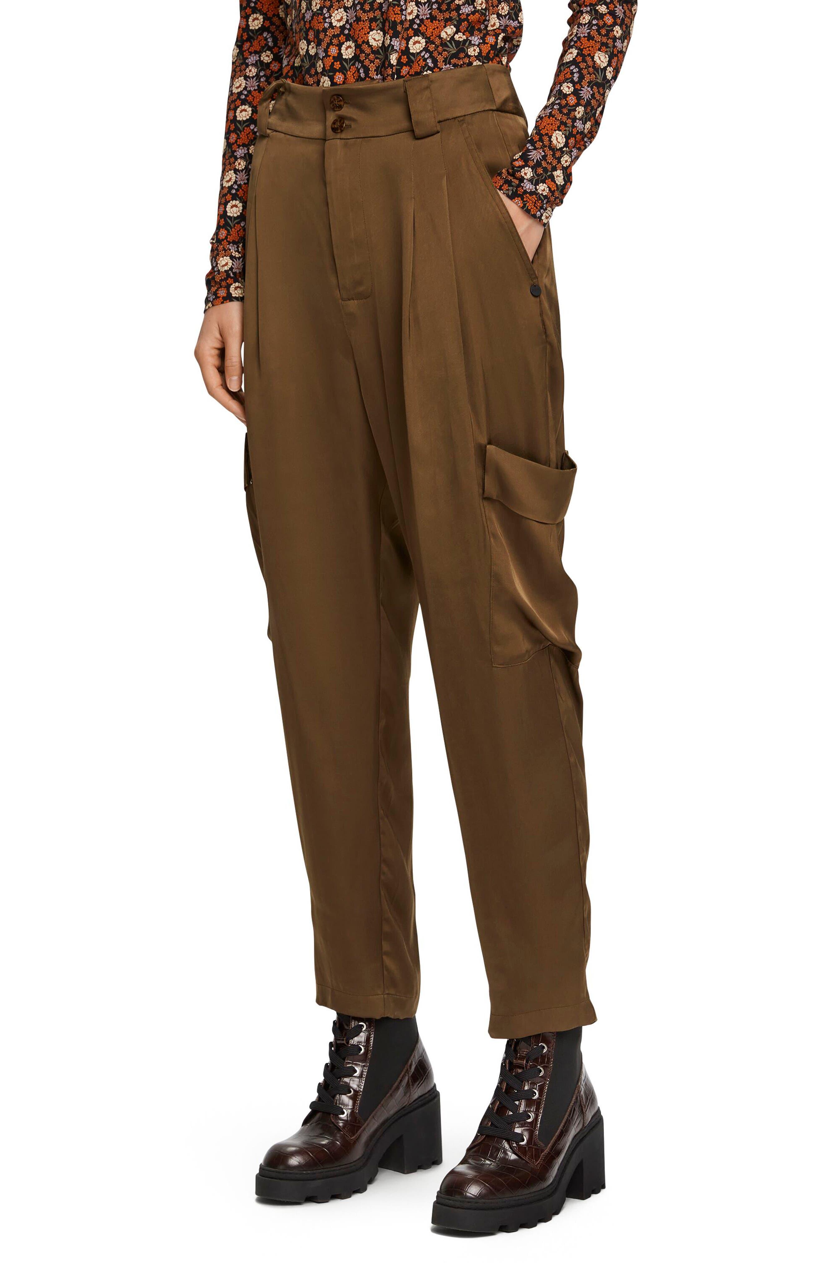 Scotch & Soda Chic Drapey Cargo Pants | Nordstrom