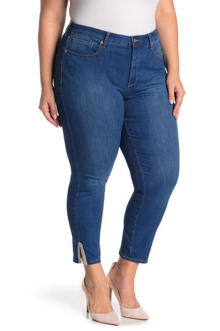 Image of NYDJ Ami Embroidered Side Vent Jeans