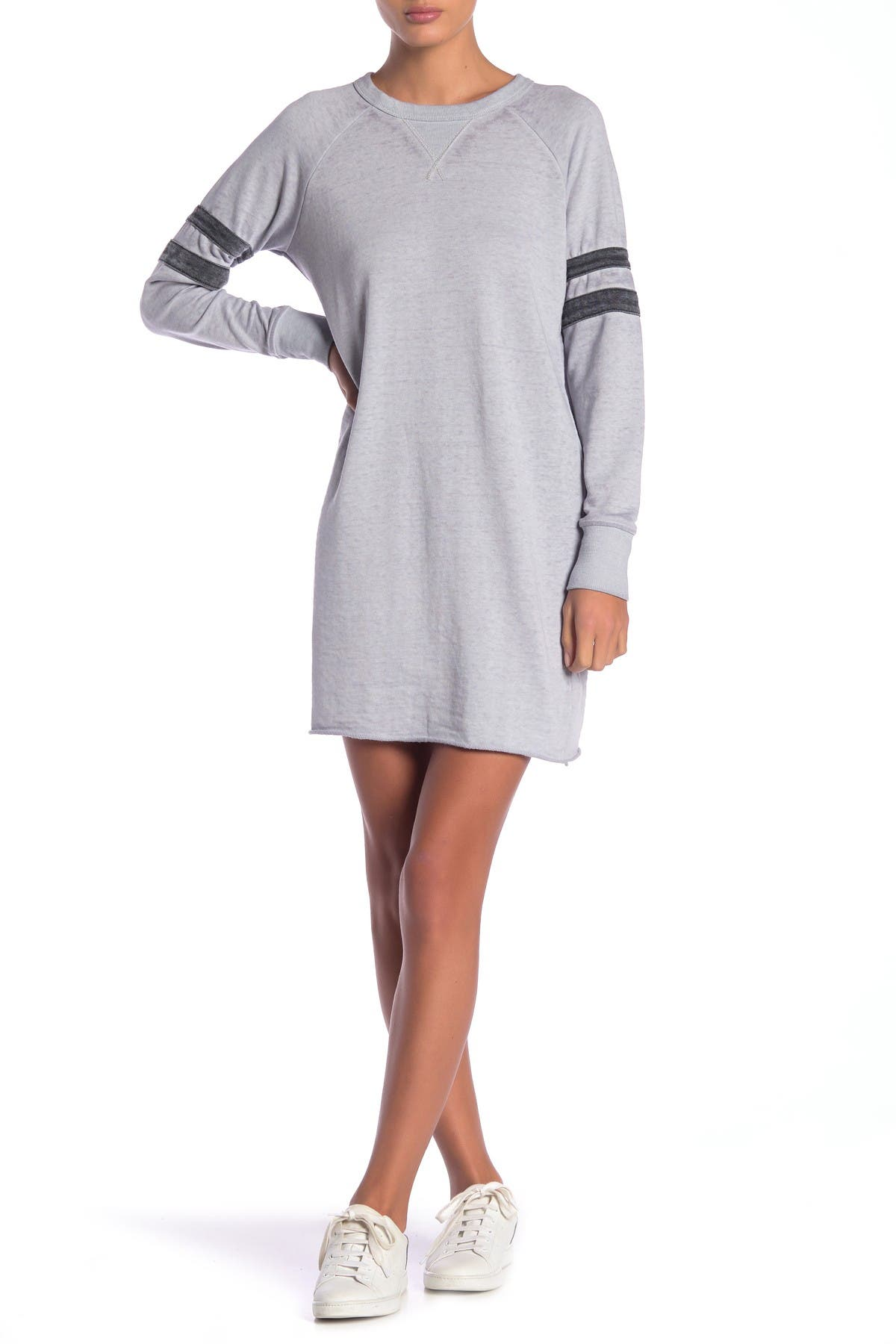 Image of Alternative Raglan Sleeve Sweatshirt Dress