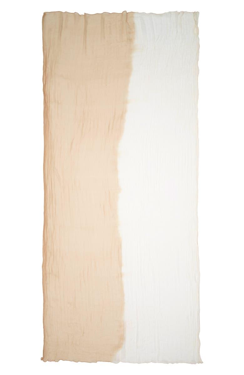 MAX MARA Beira Bicolor Silk Scarf, Main, color, 250