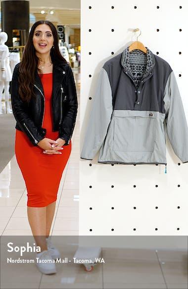 The Grey Anatomy Reversible Half Zip Pullover, sales video thumbnail