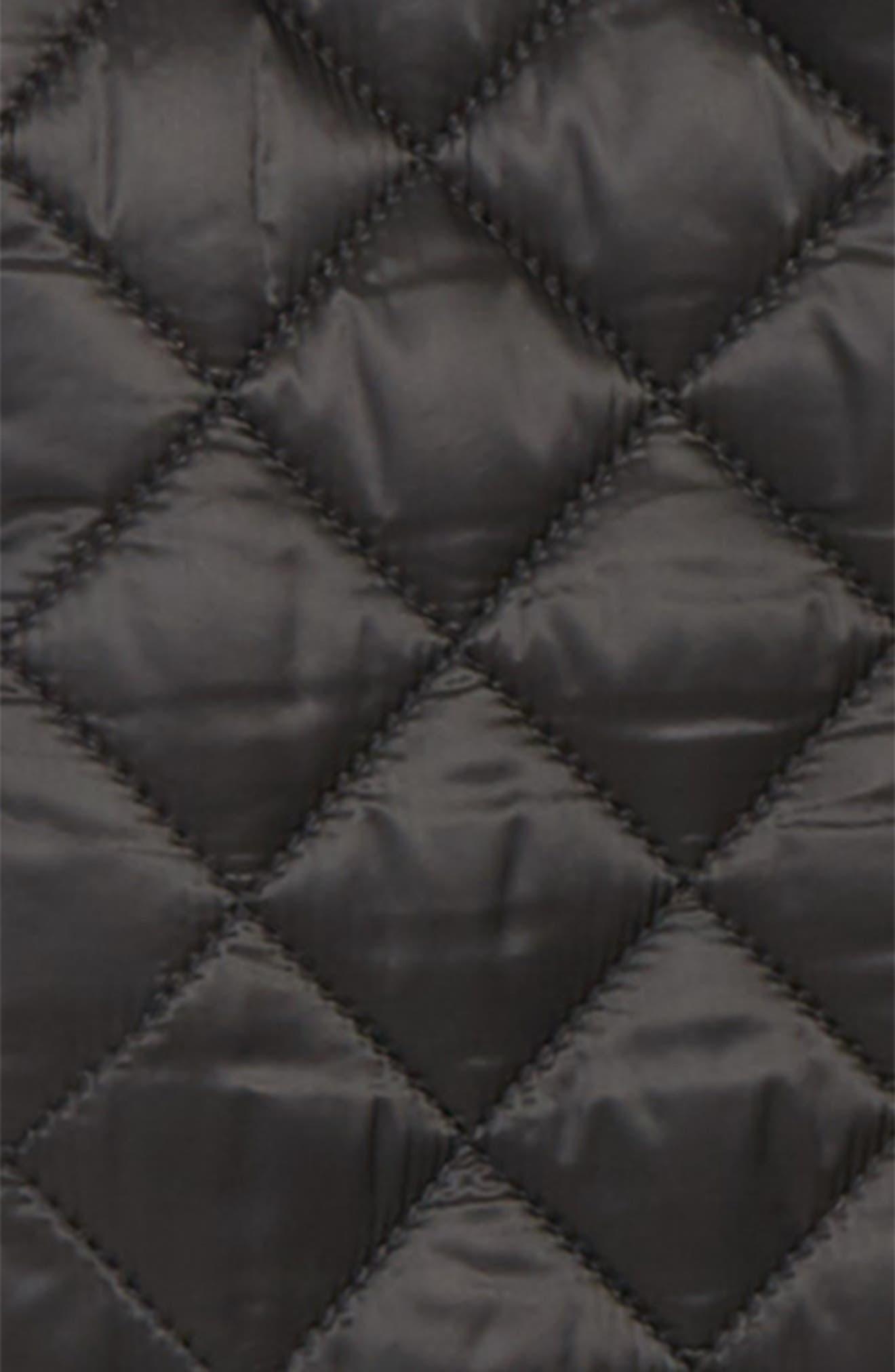 ,                             Lyle Diamond Quilted Jacket,                             Alternate thumbnail 2, color,                             BLACK