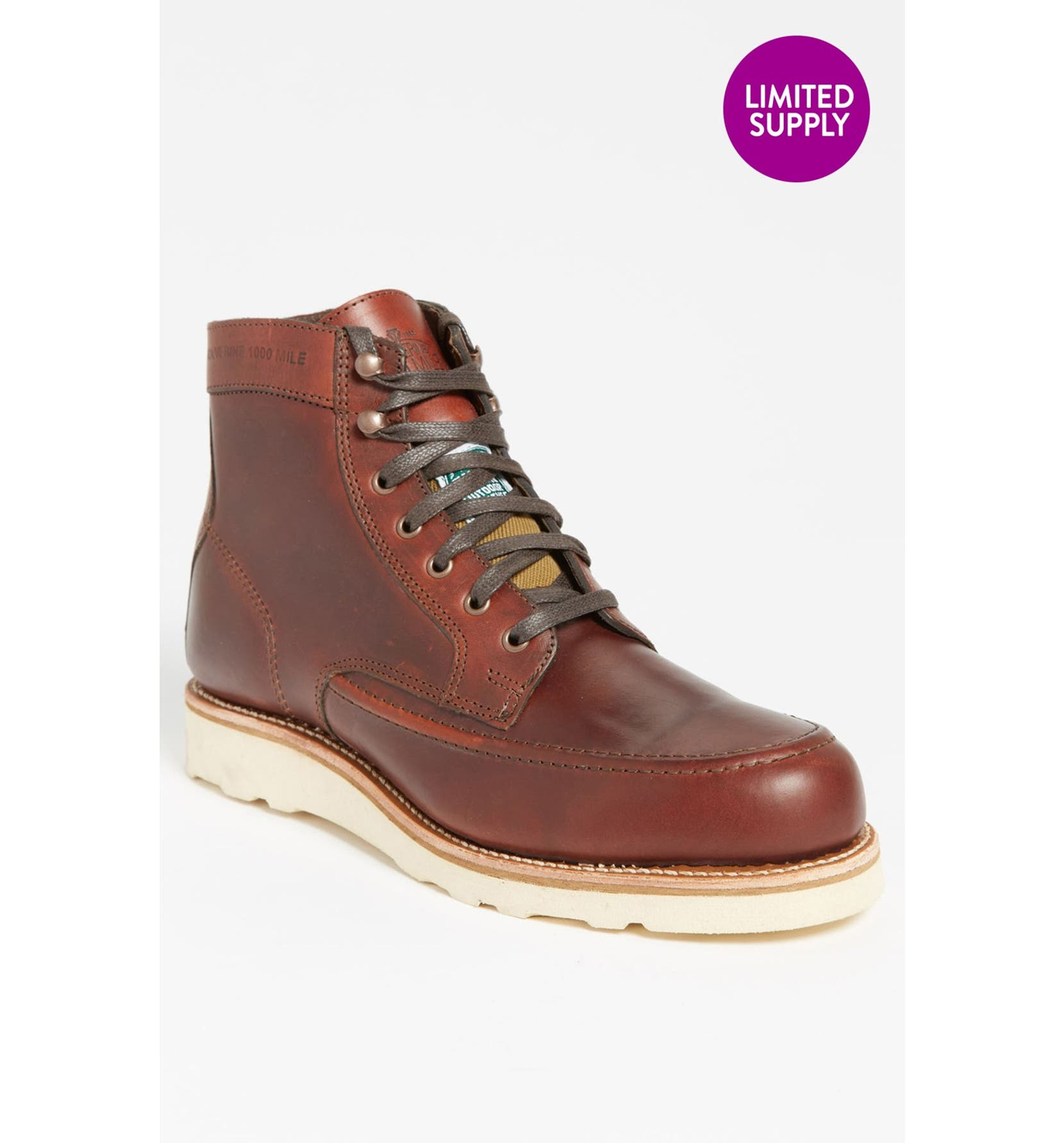 3b8bf2bfd0d '1000 Mile - Emerson' Moc Toe Boot