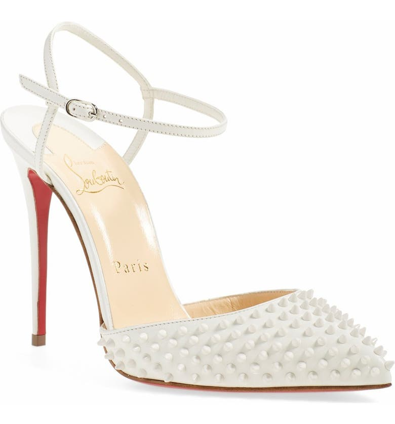 new arrival 30eef 648a7 'Baila Spike' Ankle Strap Pump