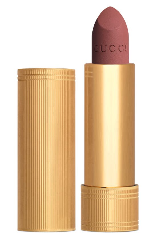 Gucci Rouge A Levres Mat Matte Lipstick In Pink