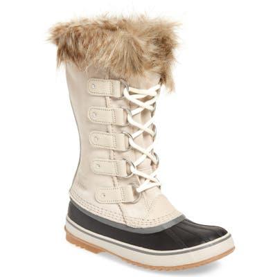 Sorel Joan Of Arctic Faux Fur Waterproof Snow Boot, Grey