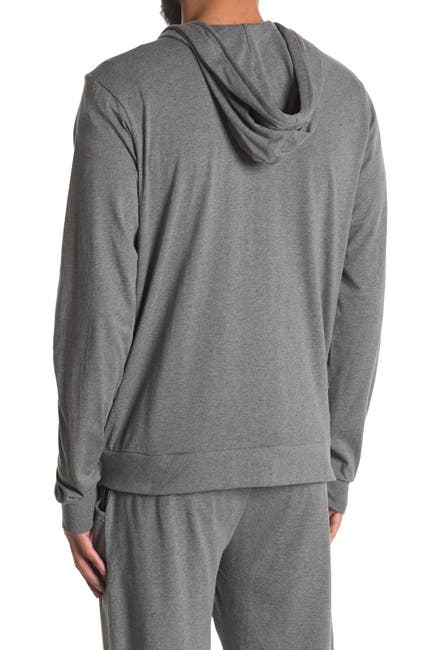 Image of Unsimply Stitched Lightweight Zip-Up Hoodie