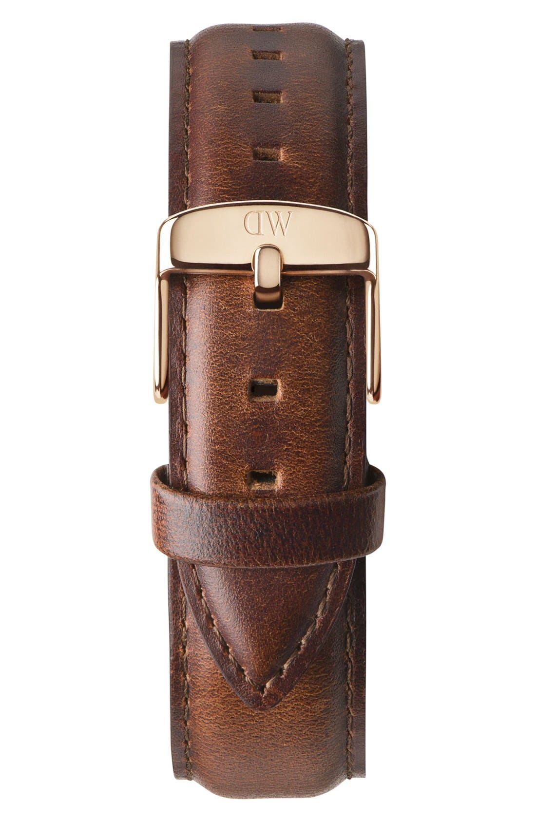 'Classic St. Mawes' 20mm Leather Watch Strap