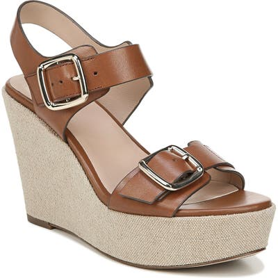 27 Edit Cait Wedge Sandal- Brown