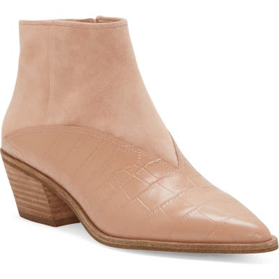 Louise Et Cie Vada Pointy Toe Bootie, Pink