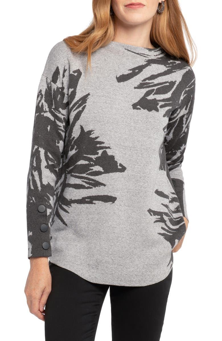 NIC+ZOE Lenox Sweater, Main, color, MULTI