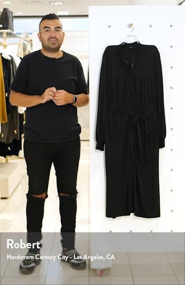 Long Sleeve Shirtdress, sales video thumbnail