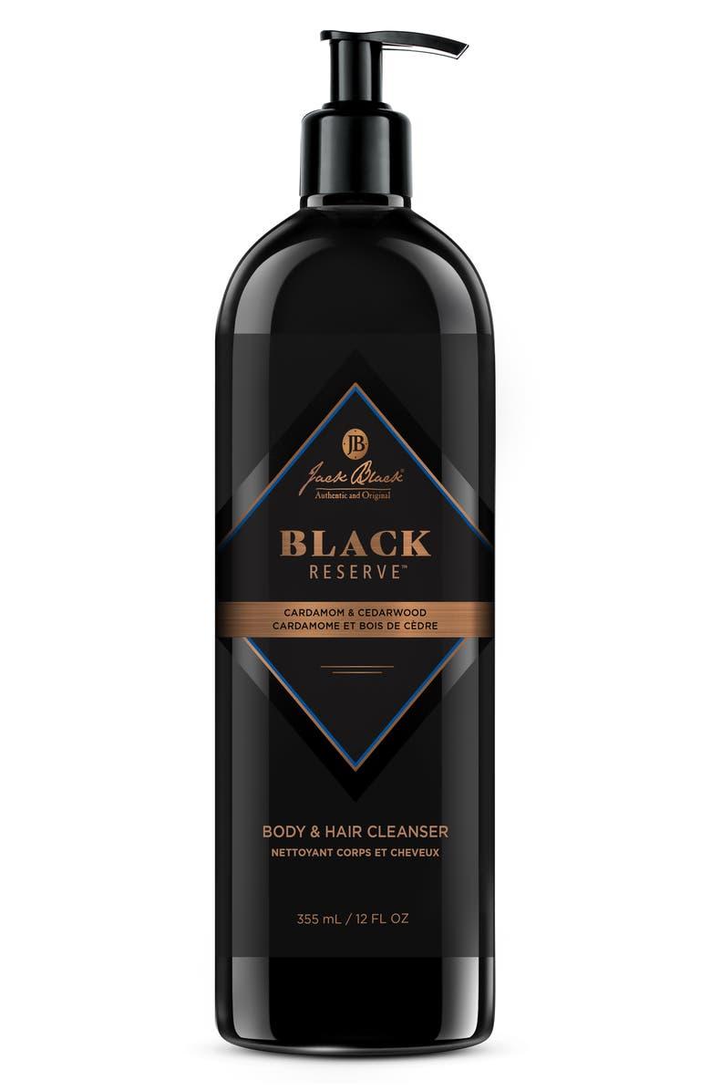 JACK BLACK Black Reserve Body & Hair Cleanser, Main, color, NO COLOR