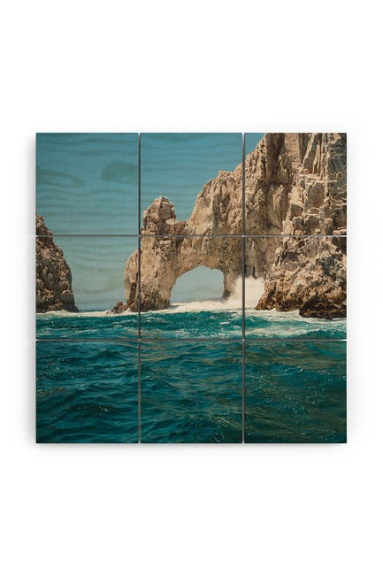 Image of Deny Designs Bethany Young Photography Arch of Cabo San Lucas Wood Wall Mural