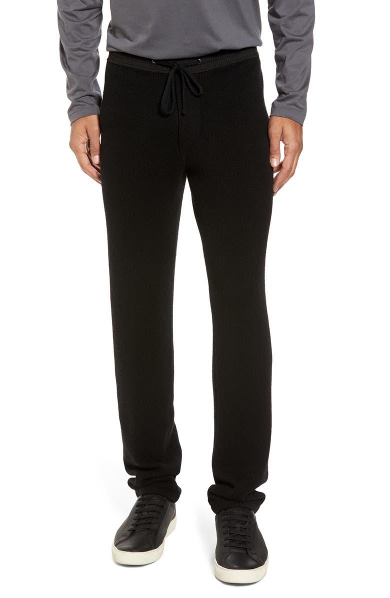 JAMES PERSE Cashmere Sweatpants, Main, color, 001