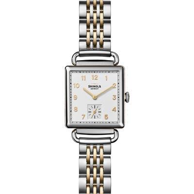 Shinola Cass Bracelet Watch, 27Mm X 27Mm