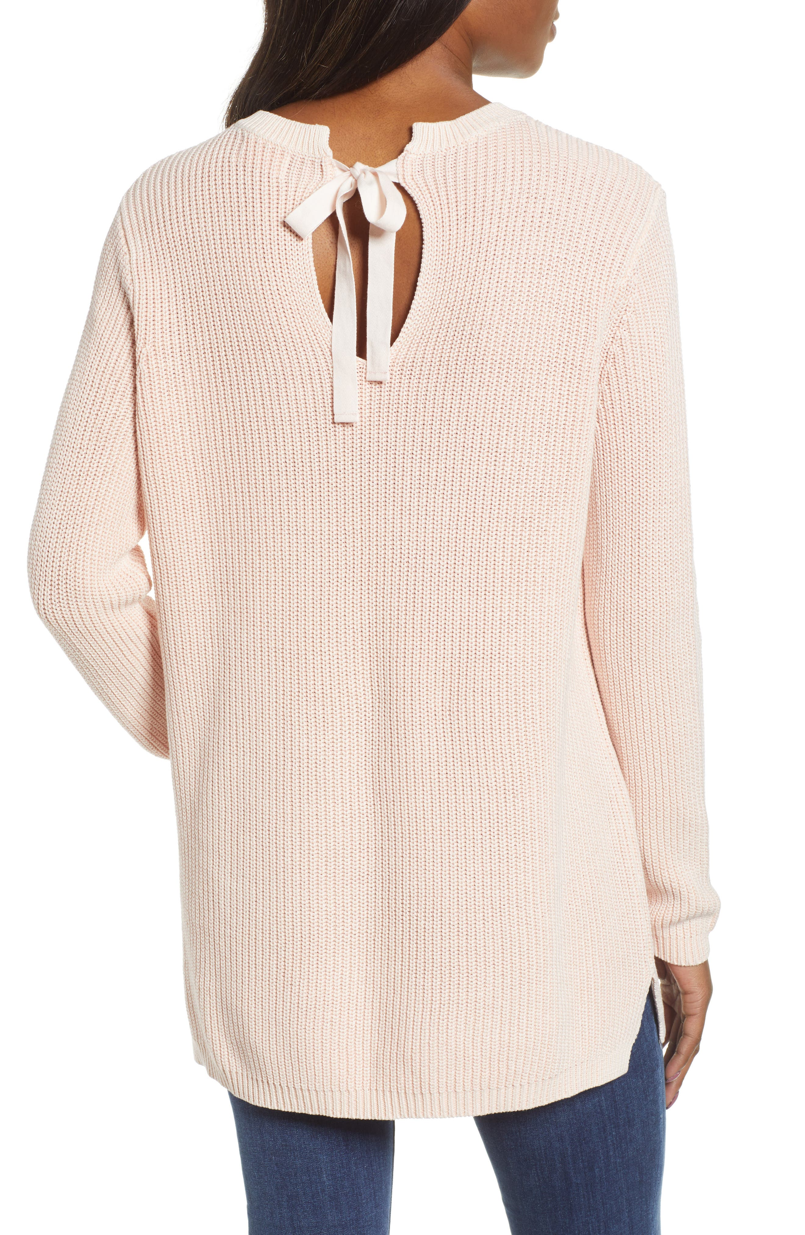 ,                             Tie Back Tunic Sweater,                             Alternate thumbnail 38, color,                             681