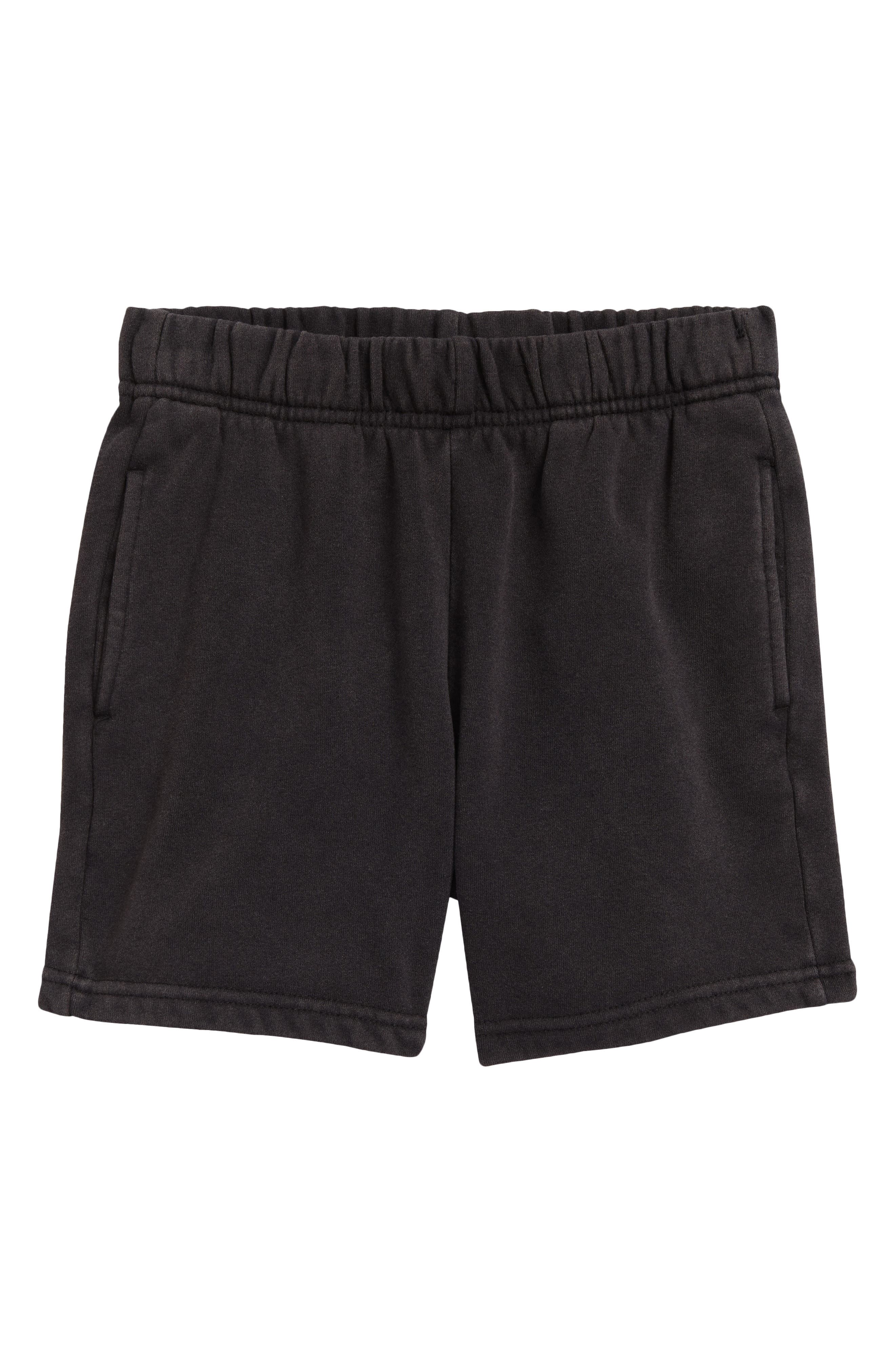 Colour Range Kids' Recycled Cotton Blend Fleece Shorts