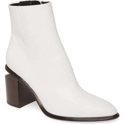 Alexander Wang Anna Mid Bootie, White