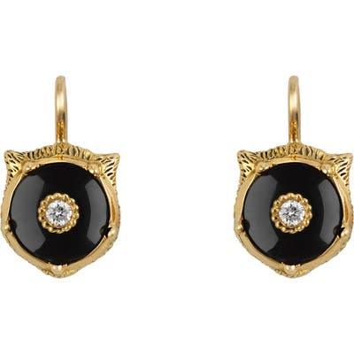 Gucci Le Marche Des Merveilles Feline Drop Earrings