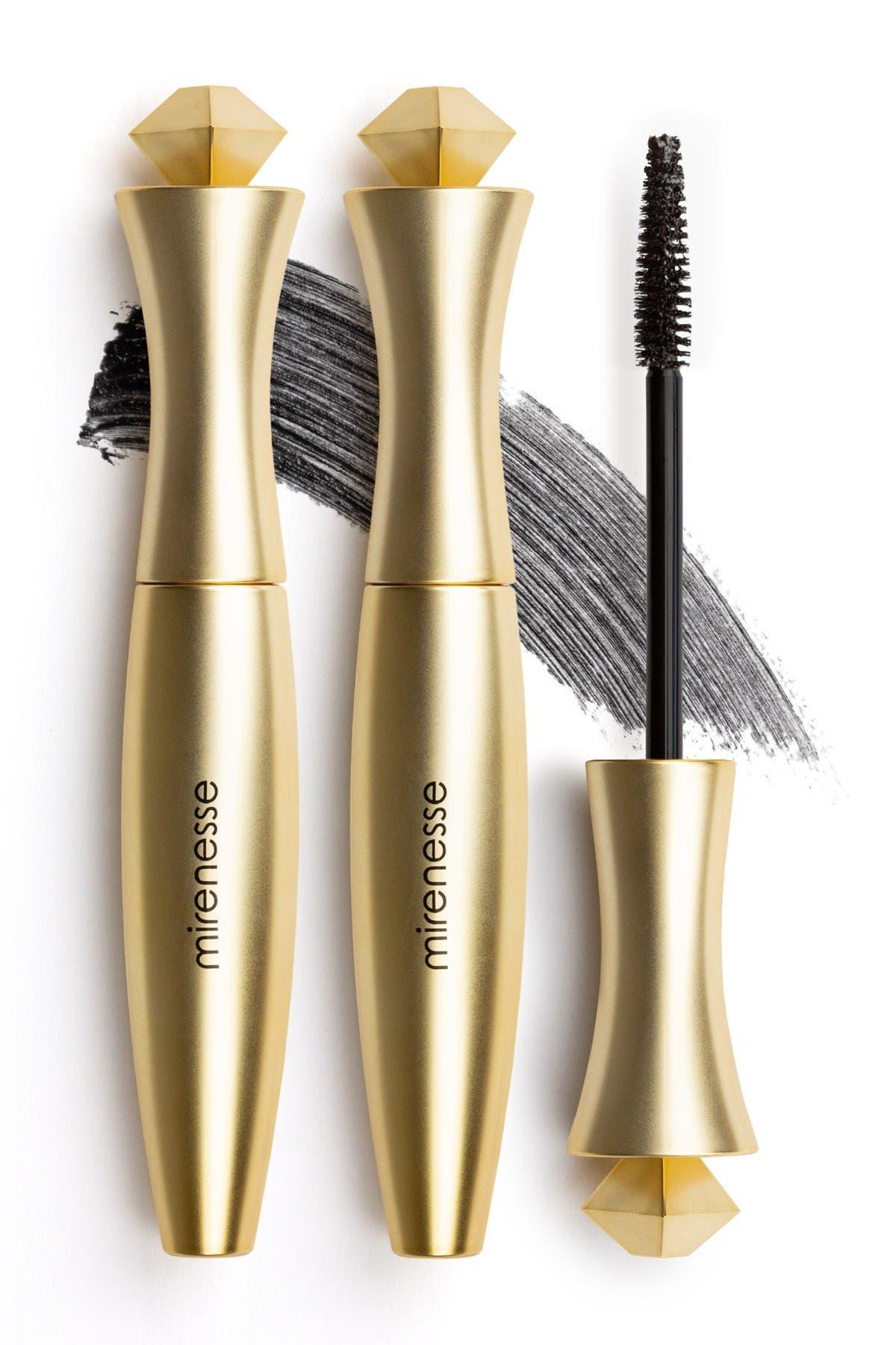 Image of Mirenesse Secret Weapon 24Hr Mascara Super Long - Black - Set of 2