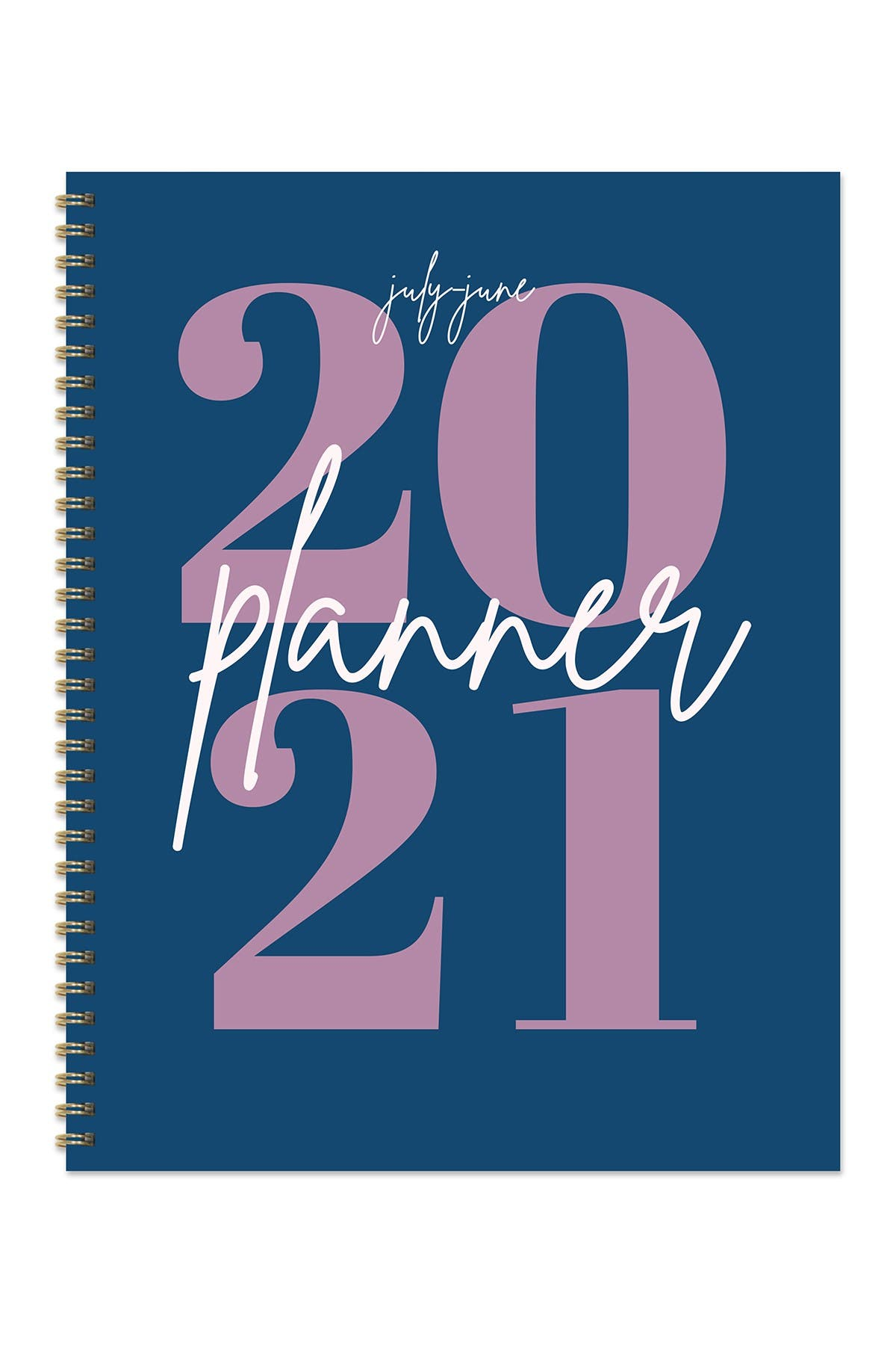 """Image of TF Publishing July 2020 - June 2021 Big Blue Year Large 8.5""""x11"""" Daily Weekly Monthly Planner + Coordinating Planning Stickers"""