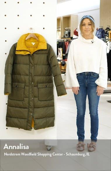 Reversible Long Puffer Coat, sales video thumbnail