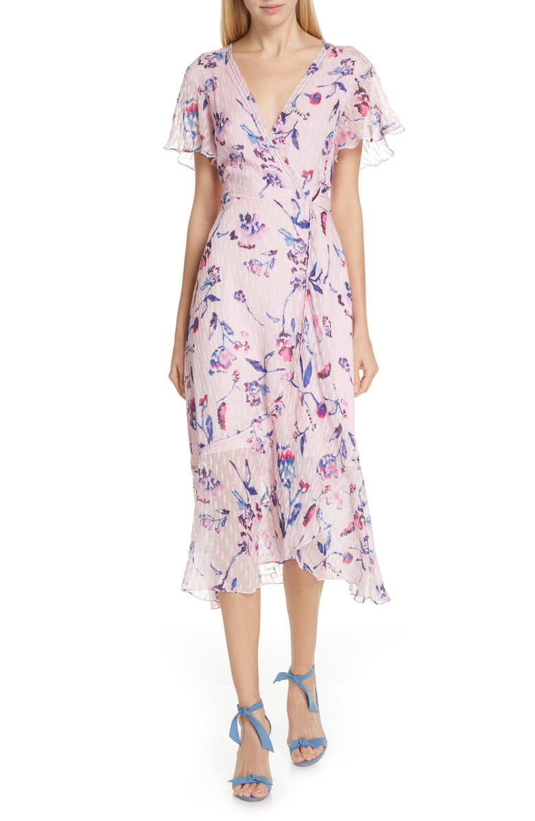 New Blaire Floral Silk & Cotton Dress